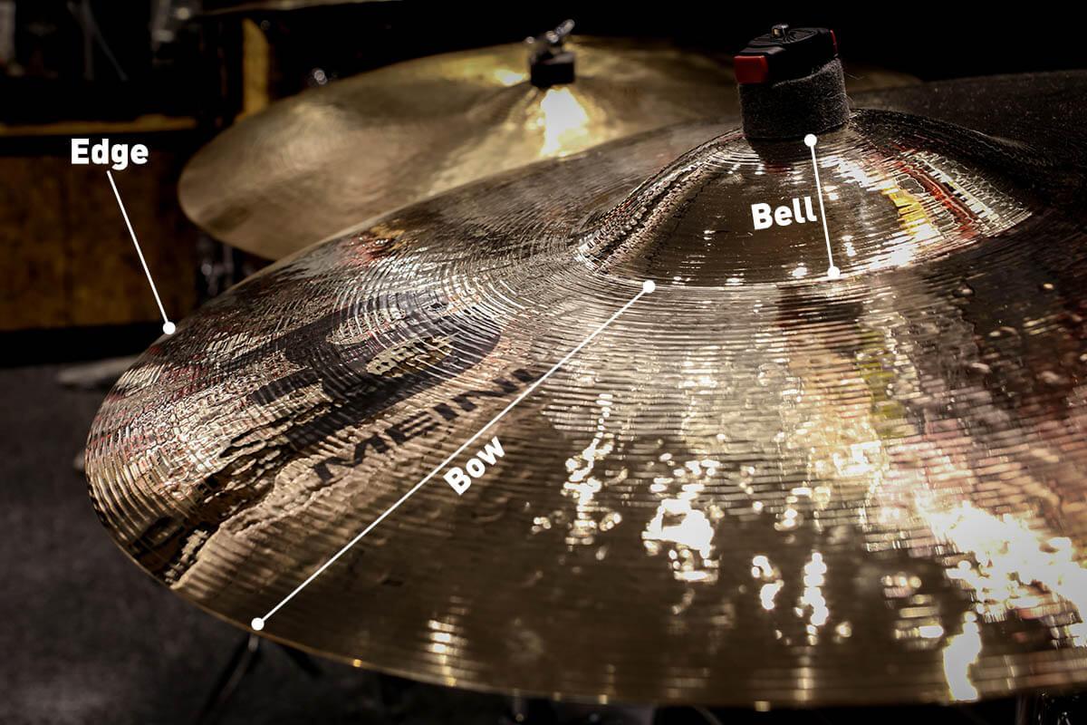 Cymbal anatomy photo