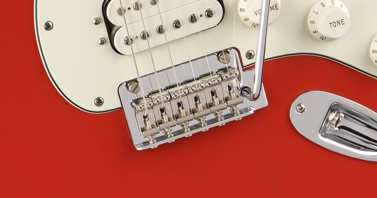 New two-point tremolo bridge on Stratocasters