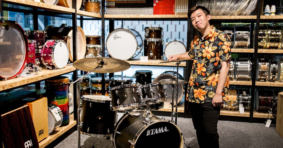 Billy Chua of Disco Hue's Top 10 Must-Have Drum Equipment - Swee Lee