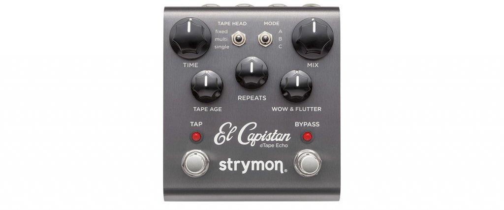 El Capistan dTape Echo Guitar Effects Pedal