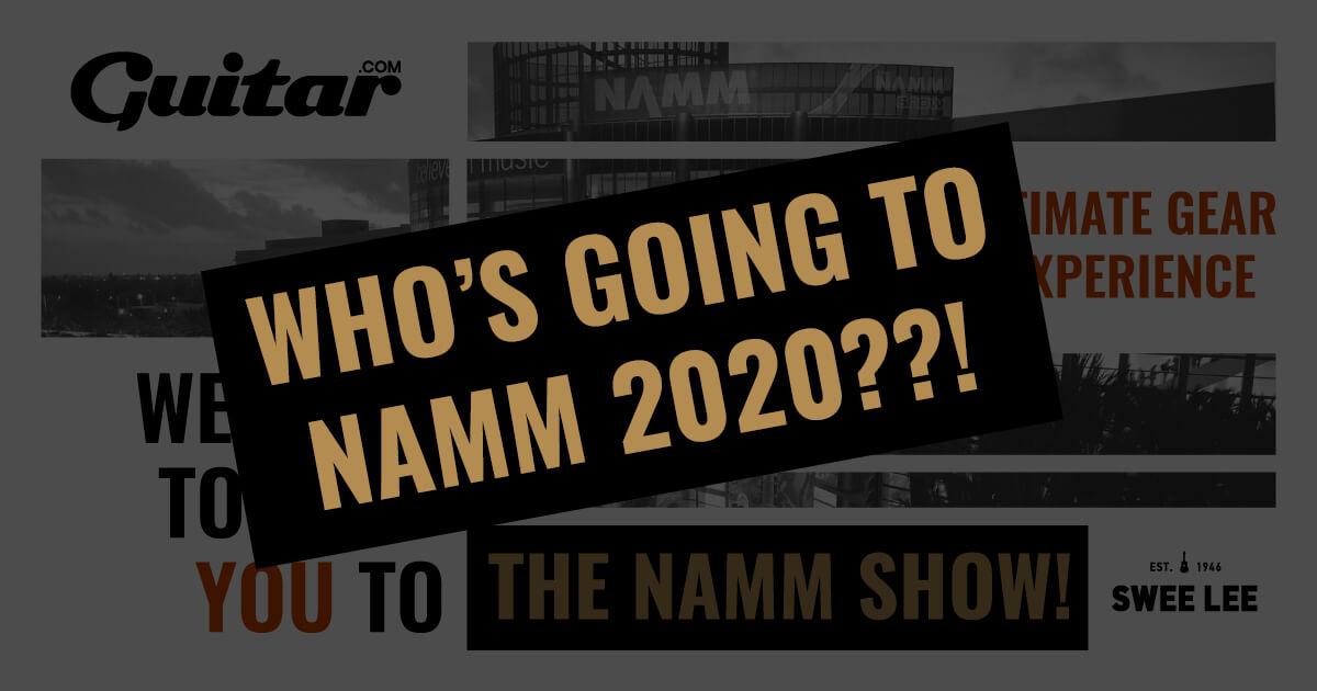 Winter Namm 2020.We Have A Winner Find Out Who S Going To Namm 2020 Swee