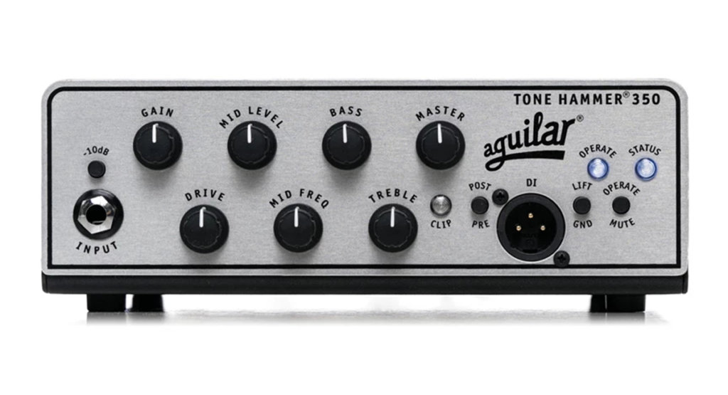 Aguilar Tone Hammer 350 Super Light 350W Bass Amplifier Head
