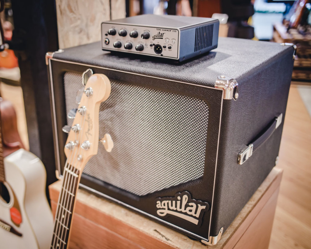 Aguilar Tone Hammer 350 and SL112 Speaker Cabinet