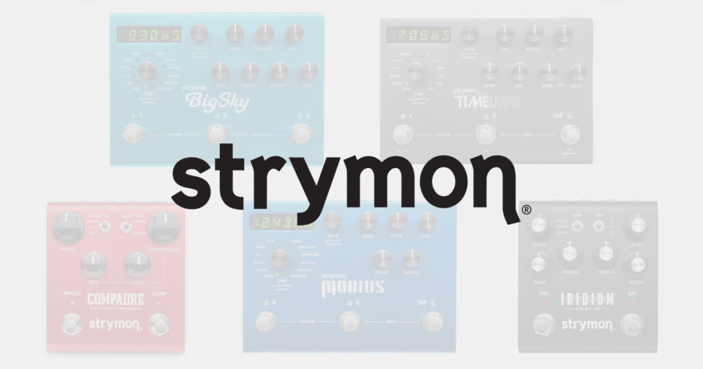 Strymon Swee Lee Ask Me Anything Iridium Compadre DSP Pedal Amp Simulator