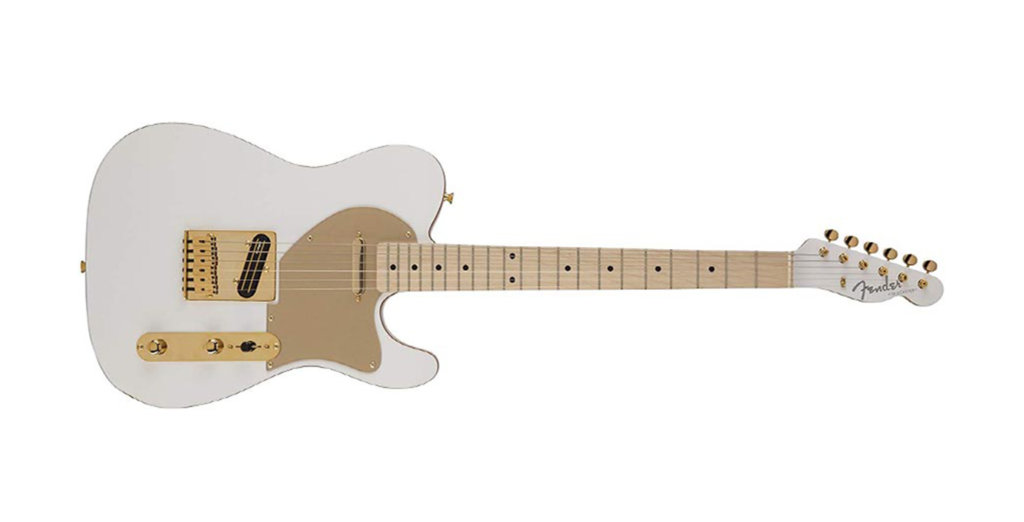 SCANDAL Haruna's Signature Fender Japan Telecaster Electric Guitar, White