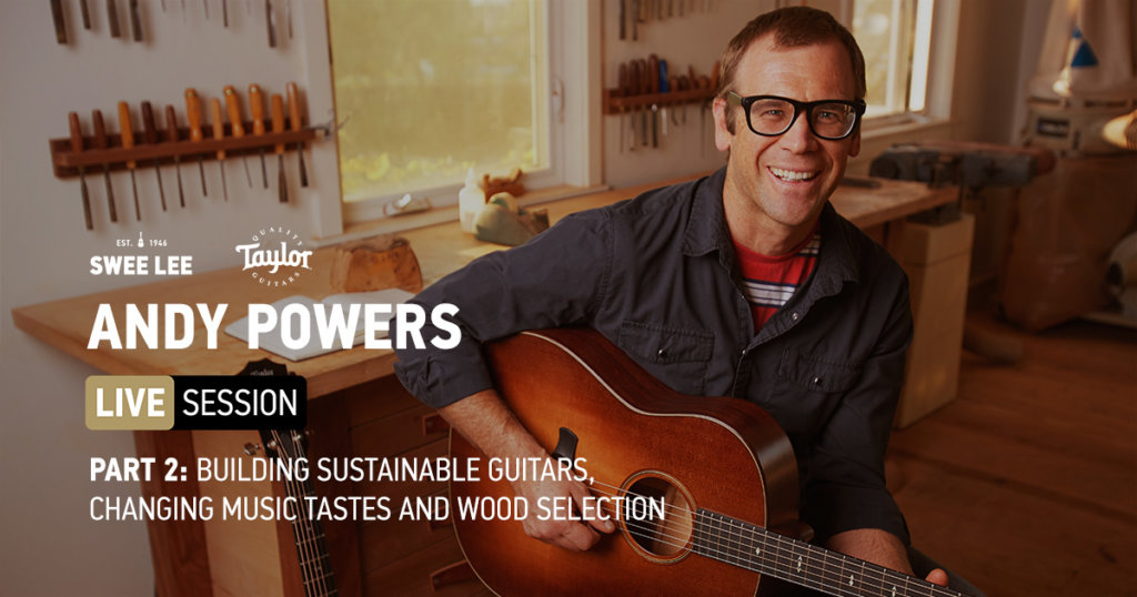 Andy Powers Taylor Guitars