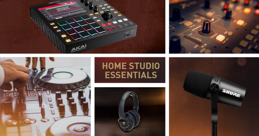 Holiday season buyers guide - home studio essentials