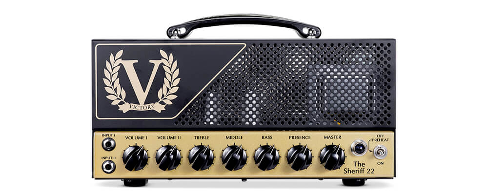 Victory Amps The Sheriff 22 Compact Guitar Amplifier Head