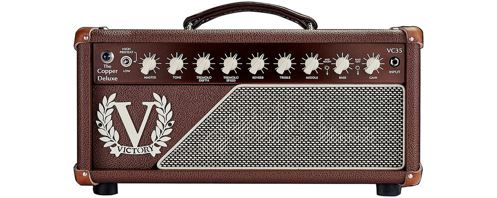 Victory Amps VC35 The Copper Deluxe Guitar Amplifier Head