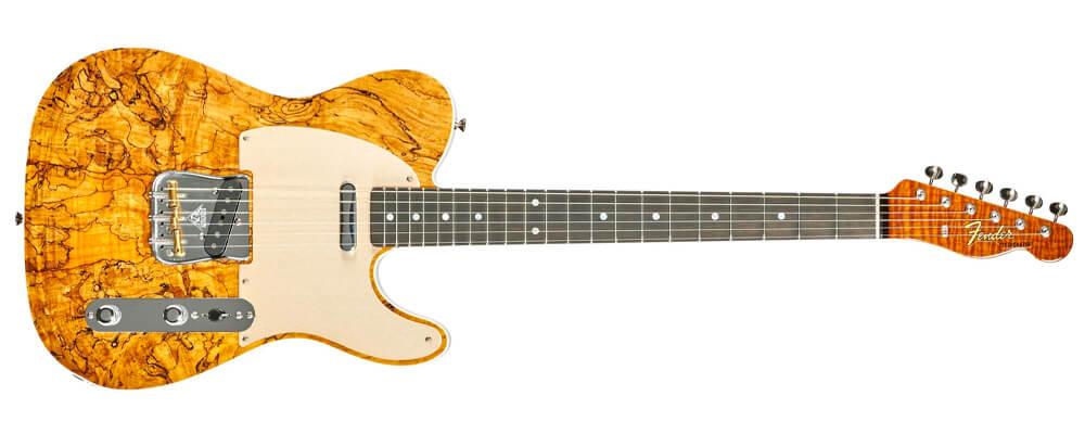 Fender Custom Shop Electric Guitar 2018 Artisan Spalted Maple Telecaster