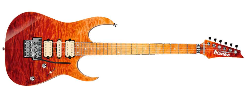 Ibanez J Custom JCRG2001-SAL Electric Guitar w/Case, Salamandra