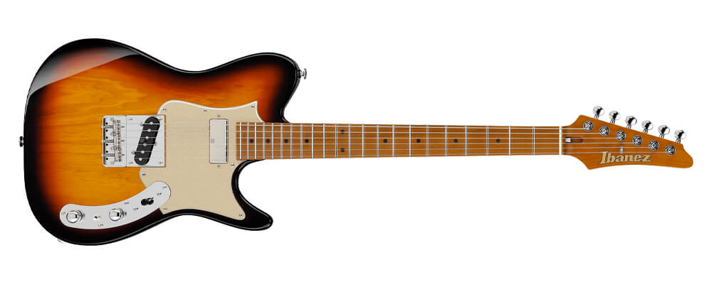 A guitar that looks like a telecaster