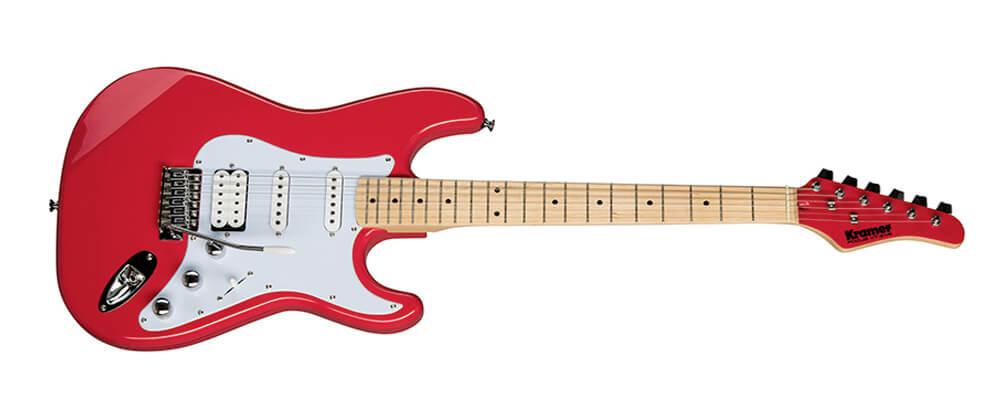 Kramer Focus VT-211S Electric Guitar, Ruby Red