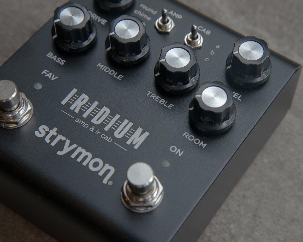 Strymon Iridium Closeup with Room Reverb Closeup