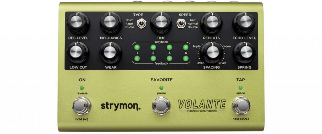 Strymon Volante Magnetic Echo Machine Guitar Effects Pedal
