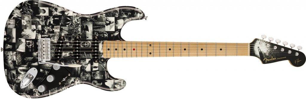 Fender Custom Shop Ltd Ed Dennis Galuszka Masterbuilt Andy Summers Monochrome Stratocaster