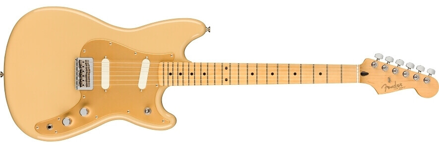 Fender Player Duo-Sonic Electric Guitar, Maple FB, Desert Sand