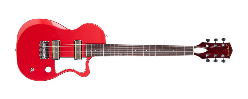 Harmony Juno Harmony Juno Electric Guitar, Rose compact but full scale electric guitar. Cách chọn Guitar
