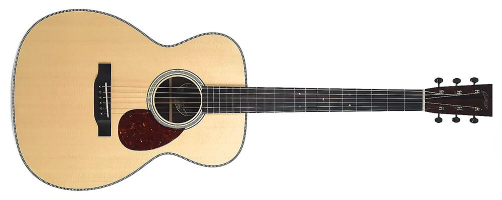 Collings OM2H Acoustic Guitar w/Case –Solid wood Sitka spruce top and full solid Indian rosewood Back & Sides