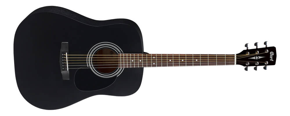 Cort AD801-BKS - Full laminate wood construction guitar without solid wood top