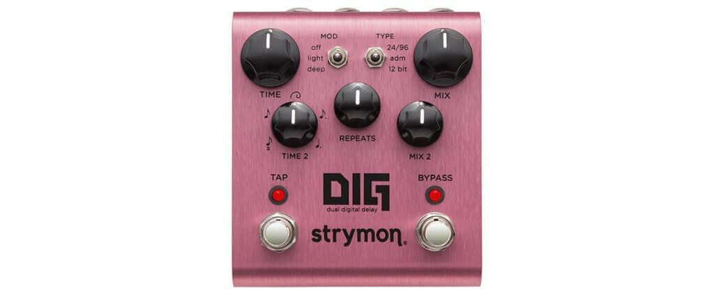 Strymon DIG Dual Digital Delay Effect Pedal