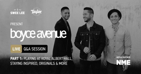 Boyce Avenue Q&A Session live Taylor Guitars part 1