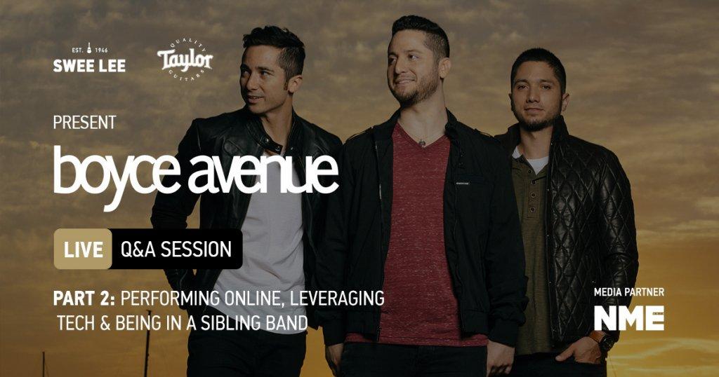 Boyce Avenue Q&A Session live Taylor Guitars part 2