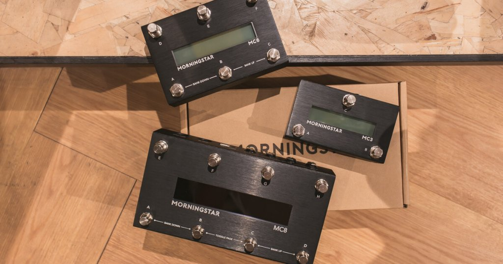 Morningstar Engineering MC3, MC6 and MC8 MIDI Pedal