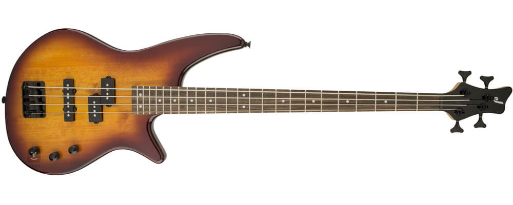 Jackson JS Series Spectra JS2 Bass Guitar, Laurel FB, Tobacco Burst