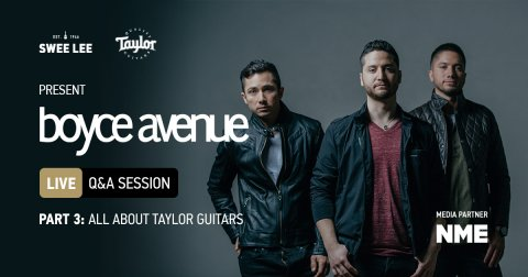 Boyce Avenue talk Taylor Guitars