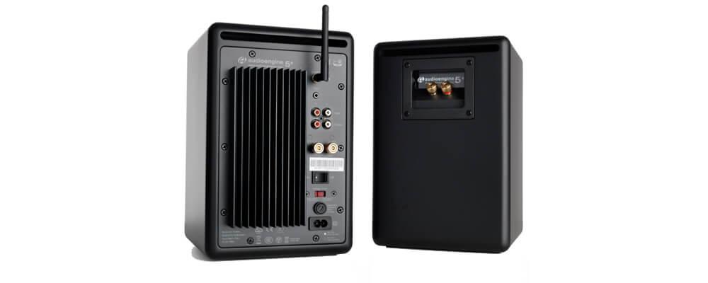 Audioengine A2+ Wireless Powered Desktop Speakers, Satin Black (Pair)