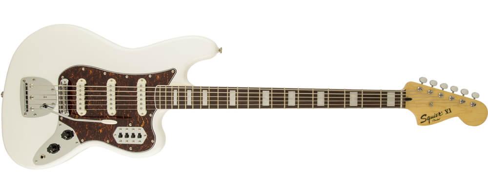 Squier Classic Vibe Bass VI Electric Guitar, Laurel FB