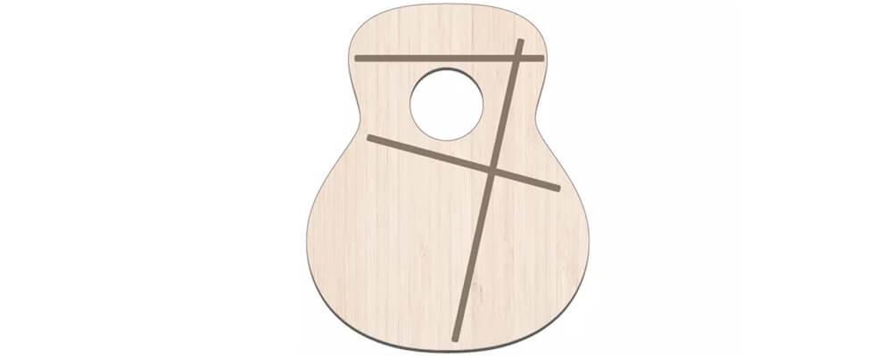 C-Class Acoustic Guitar Bracing