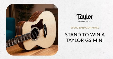 Stand a chance to win a Taylor GS Mini Rosewood