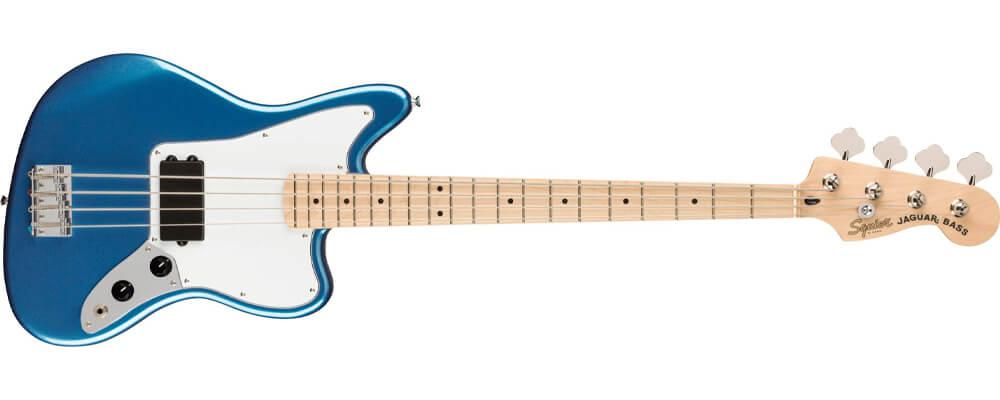 Squier Affinity Jaguar Bass Guitar H Lake Placid Blue Maple Fingerboard