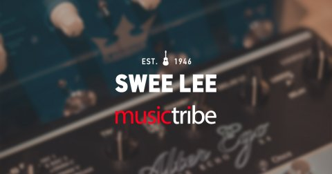 Swee Lee is proud to be a Music Tribe Super Partner