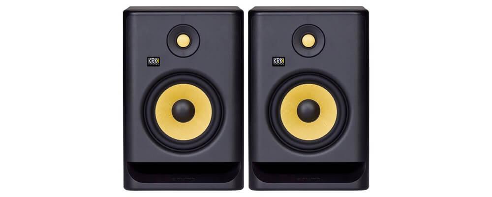 KRK Rokit RP7 G4 Home Recording Studio