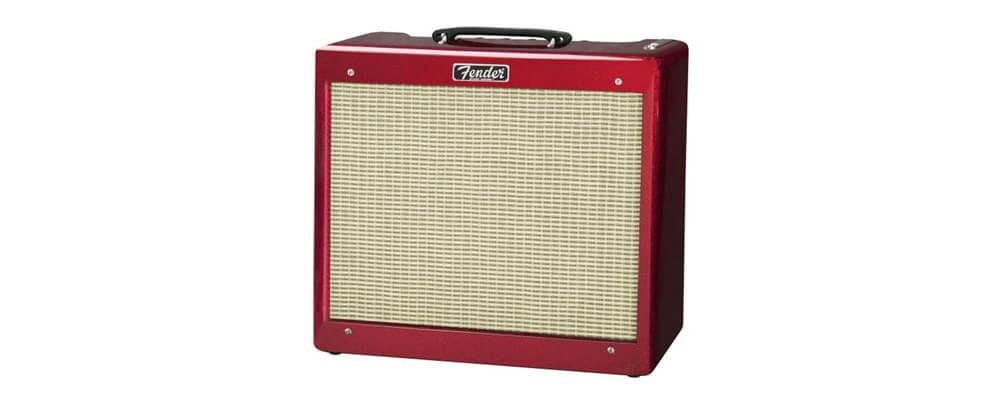 Fender Blues Junior III Combo Guitar Tube Amplifier, Candy Apple Red, 240V