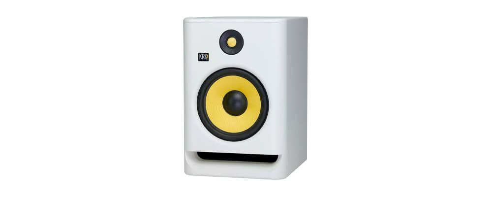 KRK RP8G4 Rokit Powered 8 Generation 4 Active Studio Monitors, White Noise (Each) Merdeka