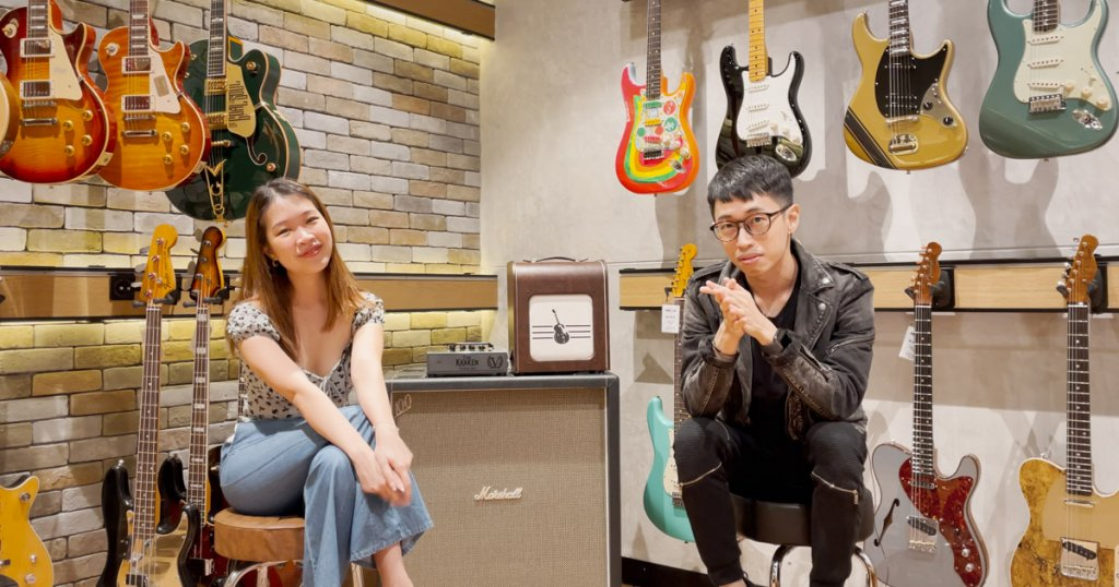 Linying and Evan Low, songwriters of The Road Ahead, National Day theme song
