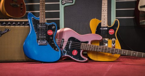 The all-new 2021 Squier Affinity Series