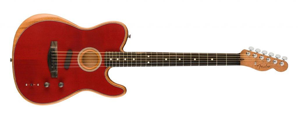 Fender American Acoustasonic Telecaster in Crimson Red – Upgrade your electric guitar blog