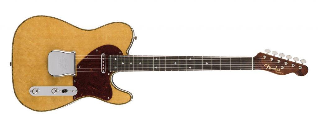 Fender Custom Shop Fred Stuart Founders Design Herringbone Telecaster - Upgrade your electric guitar blog