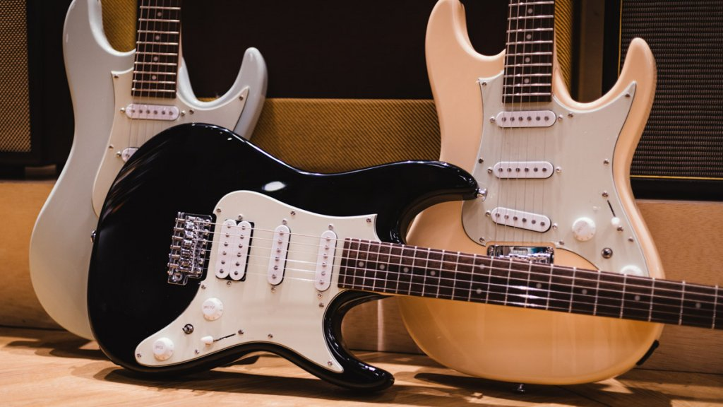 New for 2021 –the Ibanez AZ Essentials (AZES) Series