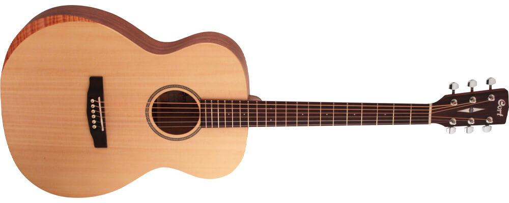 Cort Luce Bevel Cut Acoustic Guitar, Open Pore Natural Best Acoustic Guitars Under $500