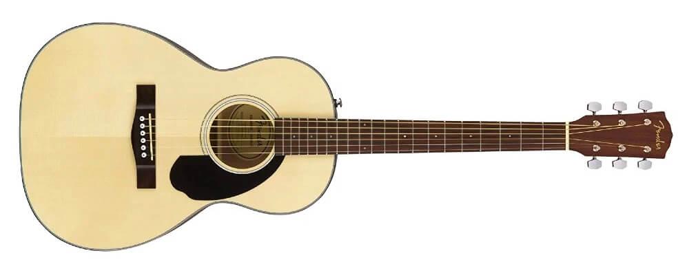 Fender CP-60S Parlor Acoustic Guitar, Walnut FB, Natural Best Acoustic Guitars Under $500