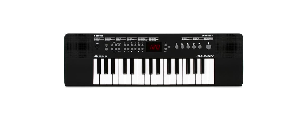 Alesis Harmony 32 is the best digital piano for practising anywhere